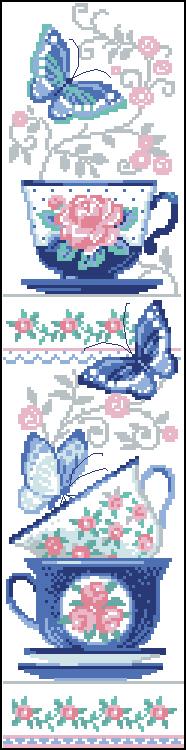 ЗеFирка - схемы вышивки